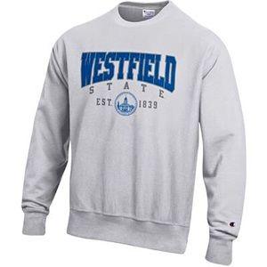 westfield state university crewneck 🤍